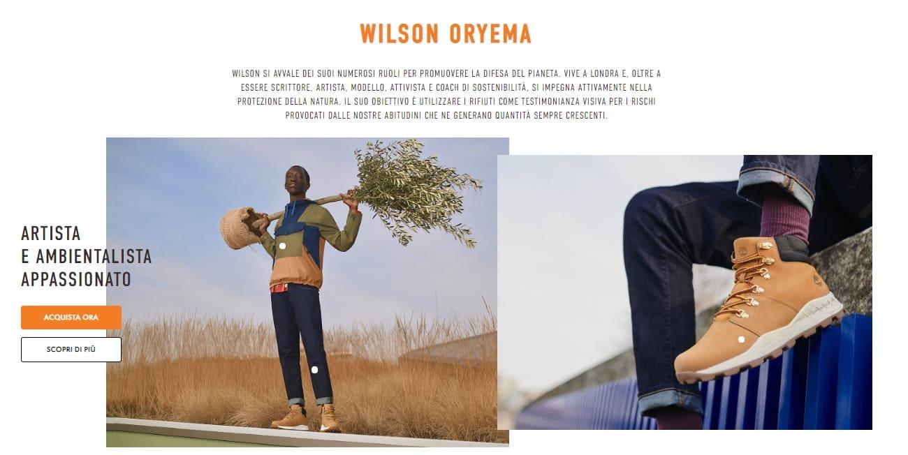 wilson oryema nature need heros timberland